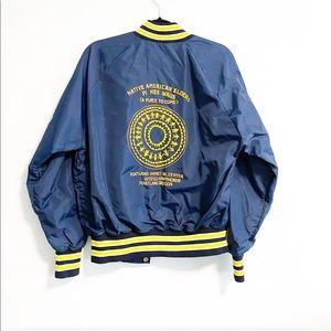 vintage Native American Elders bomber